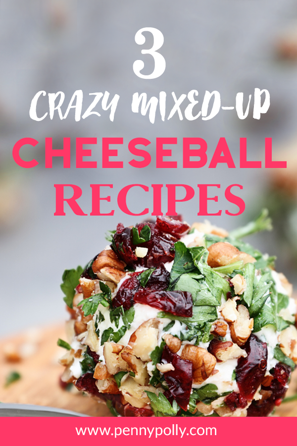 Party Treats: 3 Crazy Mixed-Up Cheeseball Recipes!