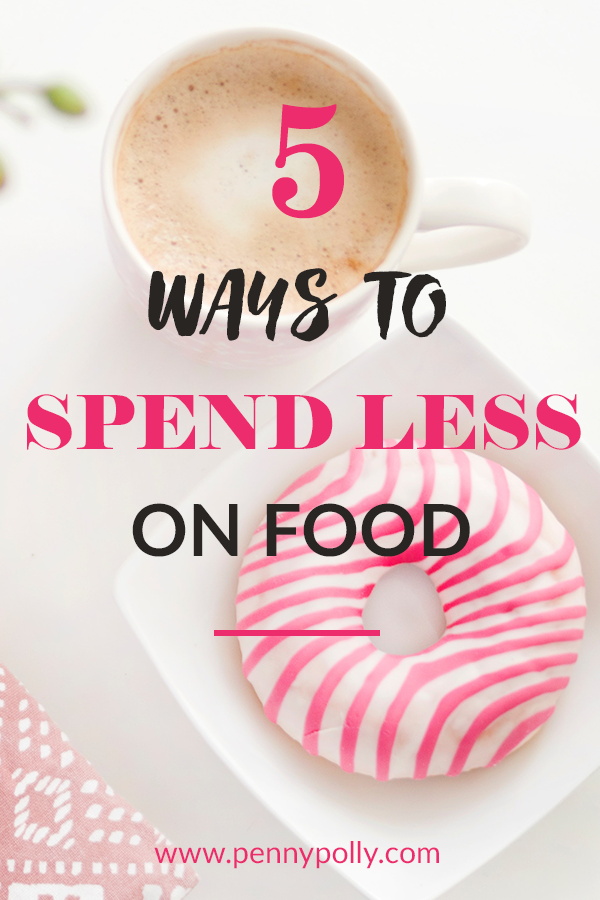 Five Ways to Spend Less on Food