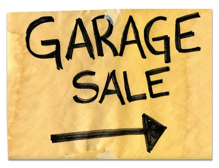 Reduce clutter in your home by and make money at the same time with a garage sale.