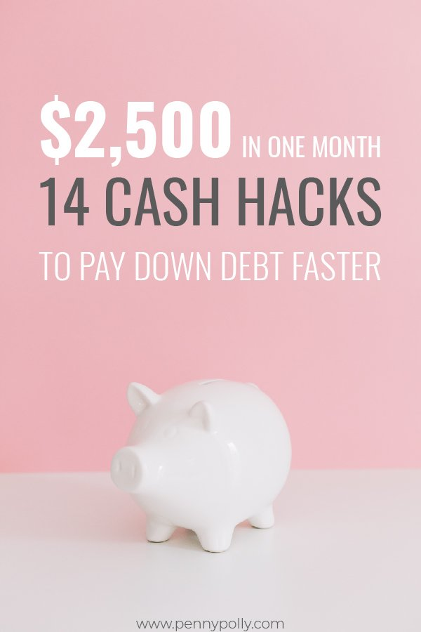 14 Cash Hacks You Must Try to Pay Down Debt Faster – Make $2,500 in One Month