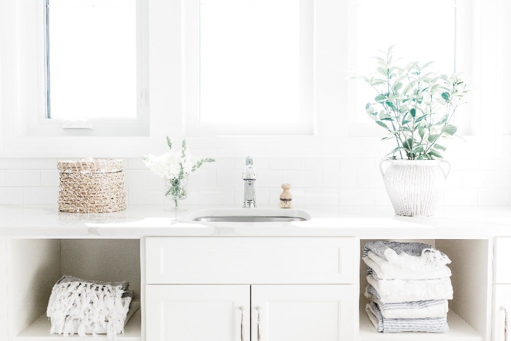 Keeping things organized and free of clutter is one way to keep your house clean the easy way