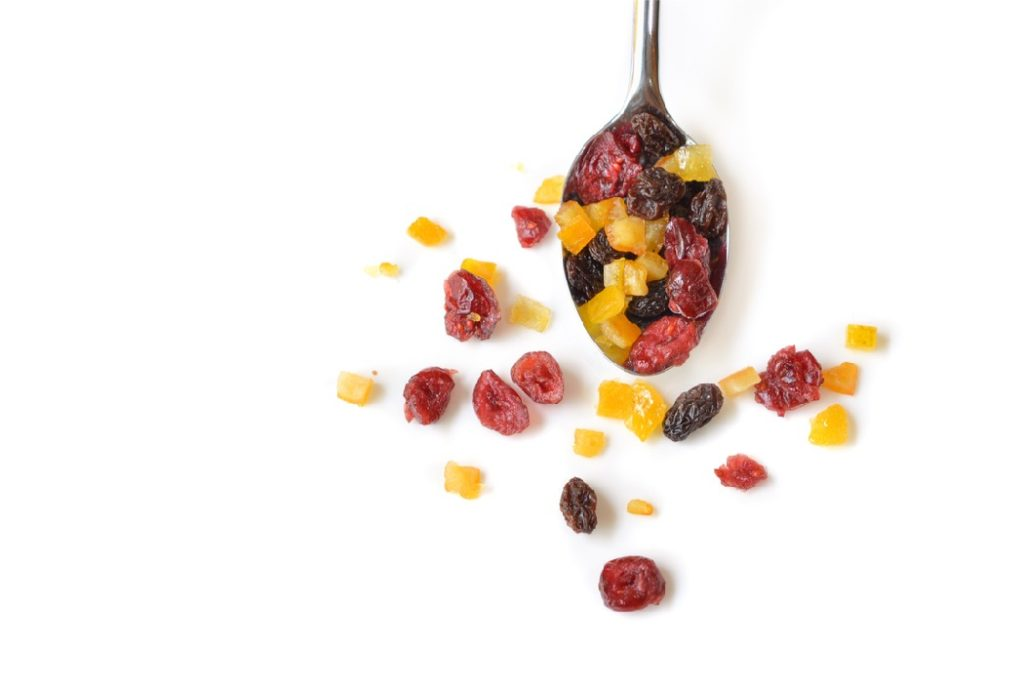 Dried fruit is healthy