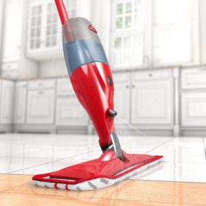 use a spray mop to save time and help you clean your house the easy way