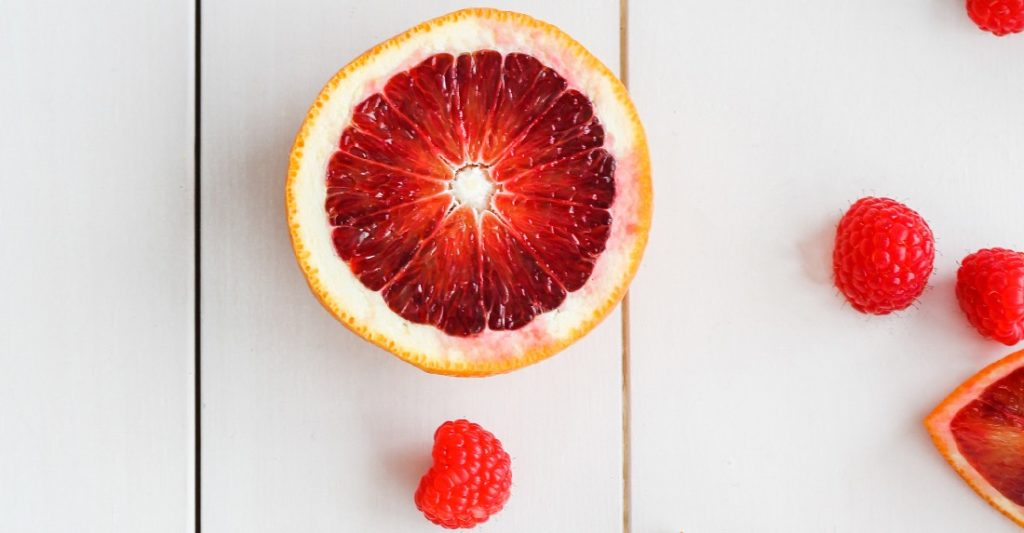 Grapefruit is a tasty snack that won't blow your diet