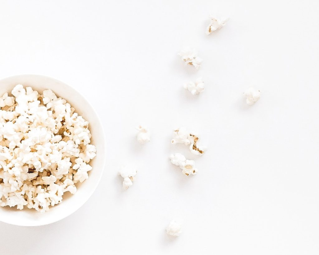 popcorn is a tasty and healthy snack