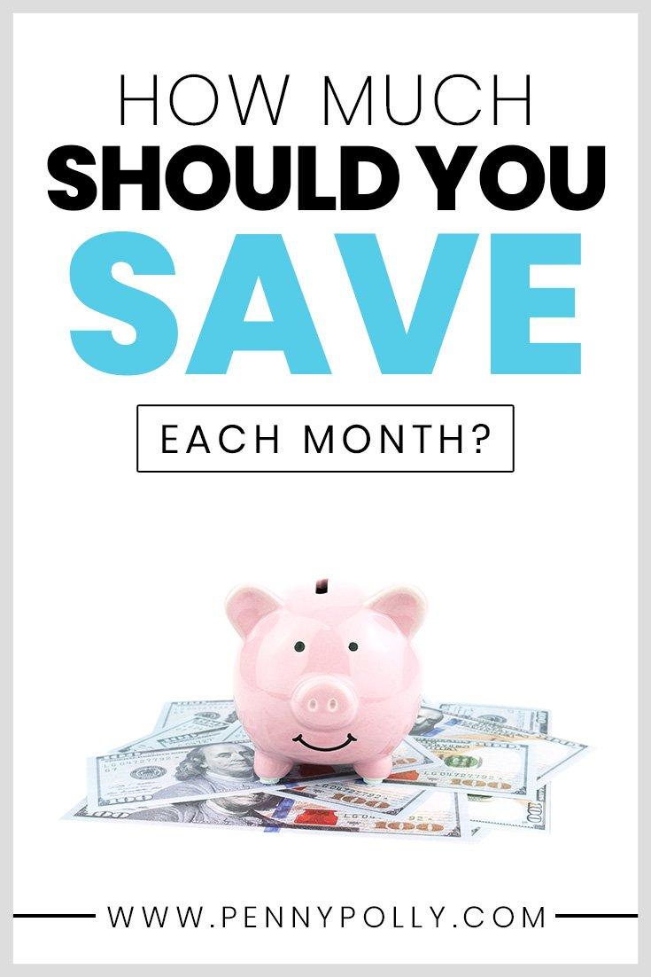 Saving money isn\'t fun but it can help you in the long run. Knowing how much you should save each month will help your financial health and your future. Learn how to spend your paycheck in the best way for you. Use the calculator tool to find out exactly how much to save! #savings #budgeting