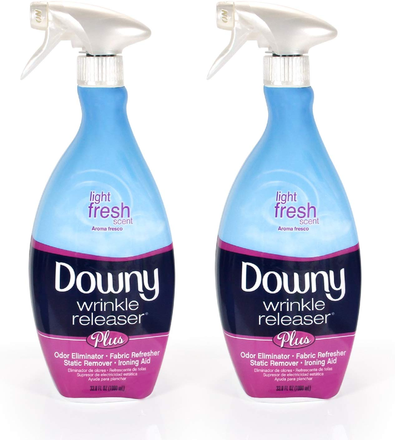 Downy wrinkle release is a time-saving product