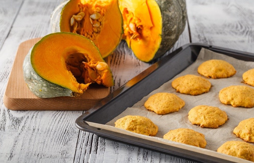 Pumpkin Softie Cookies