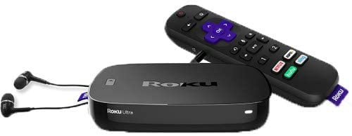 Add a Roku Ultra to your tv so you can stream services and make quarantine less boring
