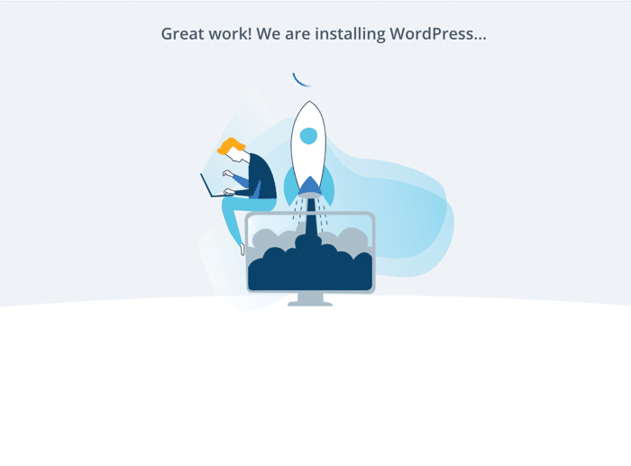 Install WordPress on your blog site