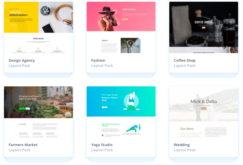 Some design options for your lifestyle blog