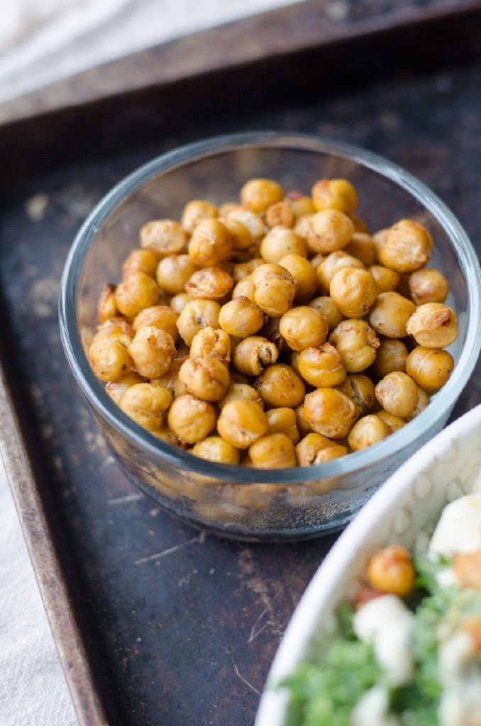 chickpeas are a vegetarian side dish